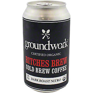 Groundwork Brew Nitro, 12 OZ
