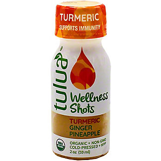 Tulua Wellness Shot Turmeric, 2 OZ