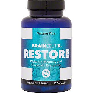 Natures Plus Brainceutix Restore Caps, 60 ct