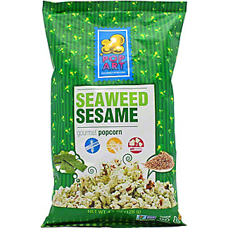 Pop Art Seaweed Sesame Popcorn, 4.5 oz