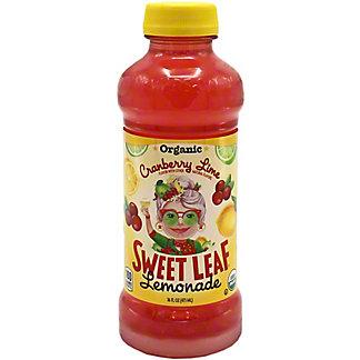 Sweet Leaf Lemonade Cranberry Lime Organic, 16 oz