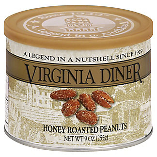 Virginia Diner Honey Roasted Peanuts, 9 oz