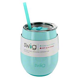 Swig Seaglass Stemless Wine Cup, 14 oz