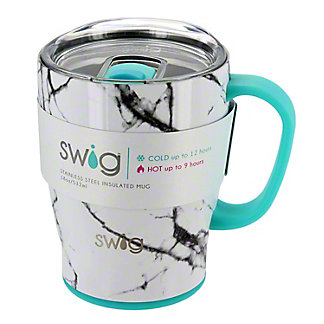 Swig Marble Slab Mug, 18 oz