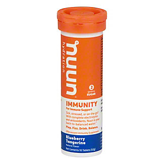 Nuun Immunity For Immune Support Blueberry Tangerine, 10 ct