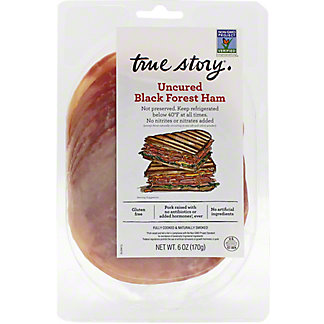 True Story Black Forest Ham Sliced, 6 oz