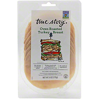 True Story Sliced  Roasted Turkey , 6 oz