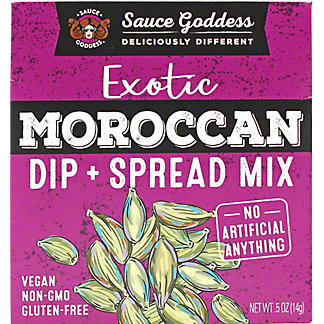 Sauce Goddess Moroccan Spread Dip Mix, .5 oz