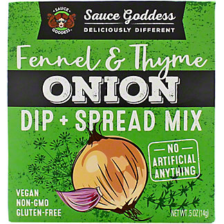 Sauce Goddess Onion Spread Dip Mix, .5 oz