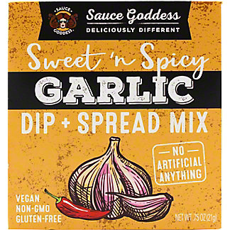 Sauce Goddess Garlic Spread Dip Mix, .75 oz