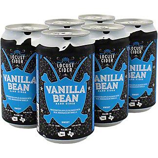 Locust Cider Hard Cider Vanilla Bean 12 oz, 6 pk