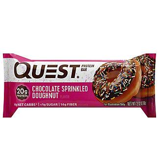 Quest Chocolate SprinkleDoughnut Protein Bar, 2.12 oz