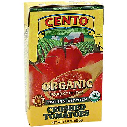 Cento Cento Organic Italian Kitchen Crushed Tomato, 17.6 oz
