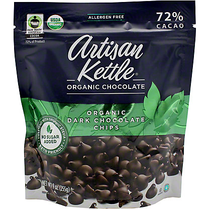 Artisan Kettle Organic No Sugar Added Dark, 9 oz