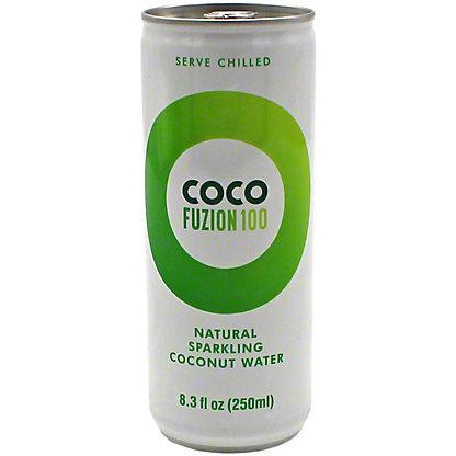Coco Fuzion 100 Sparkling Coconut Water, 8.3 oz