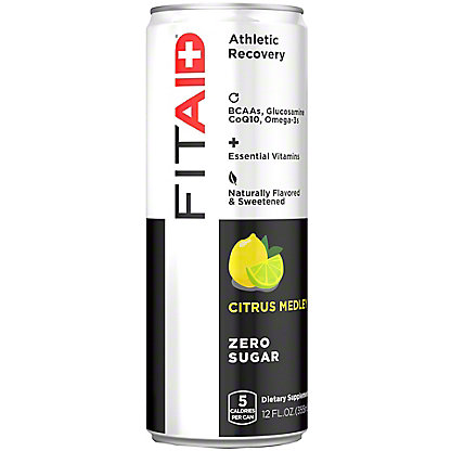 LIFEAID FITAID Recovery Blend Zero Sugar Supplement Beverage, 12 oz