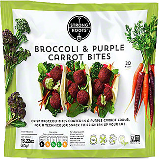 Strong Roots Strong Roots Broccoli & Purple Carrot Bites, 13.3 oz