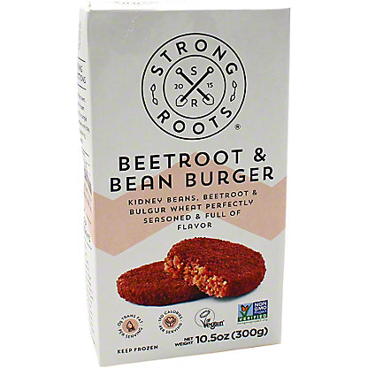 Strong Roots Strong Roots Burger Beet Root Bean, 10.5 oz