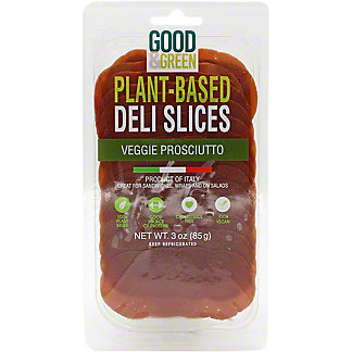 Good & Green Plant Based Prosciutto, 3 oz