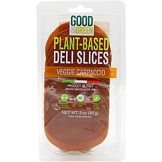 Good & Green Plant Based Carpaccio, 3 oz