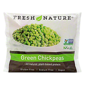 Fresh Nature Green Chickpeas, 12 oz