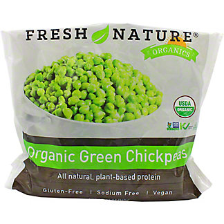 Fresh Nature Organic Green Chickpeas, 12 oz