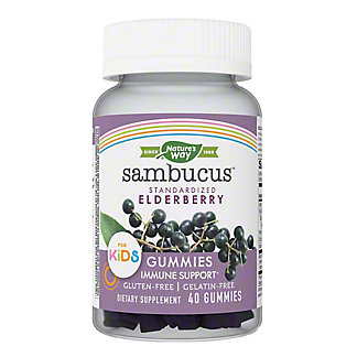 Nature's Way Kids Sambucus Elderberry Gummies, 40 ct