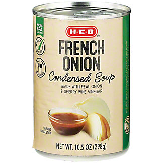 H-E-B Select Ingredients French Onion Condensed Soup, 10.5 oz