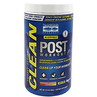 Trace Minerals Clean Post-Workout Strawberry Lemonade, 16.2 oz