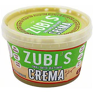 Zubiate's Crema De Jalapeno, 16 OZ