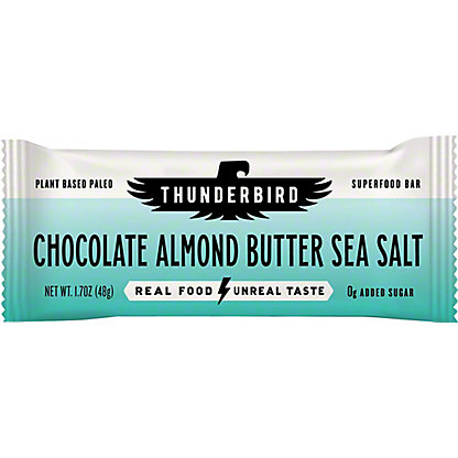 Thunderbird Chocolate Almond Sea Salt Bar, 1.7 oz
