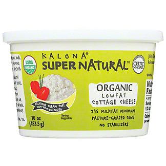 Kalona SupernaturalOrganic Lowfat Cottage Cheese, 16 oz