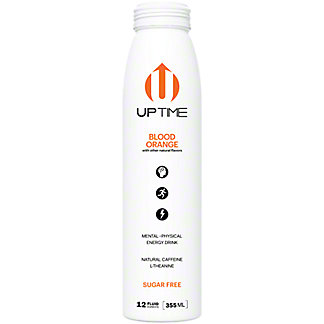 UPTIME Blood Orange Sugar Free Energy Drink, 12 oz
