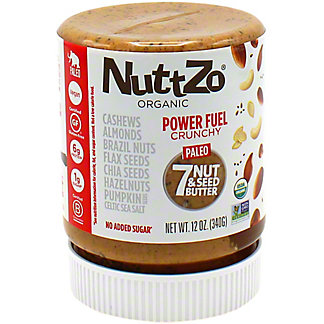Nuttzo Power Fuel Crunchy Nut Seed Butter , 12 oz