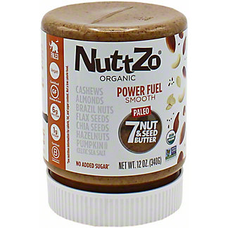 Nuttzo Power Fuel Smooth Nut Seed Butter, 12 oz