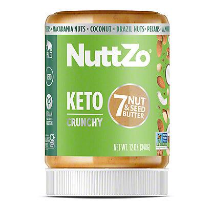 Nuttzo Crunchy Nut Seed Keto Butter, 12 oz