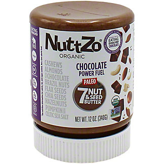 Nuttzo Chocolate Power Fuel Nut Seed Butter , 12 oz