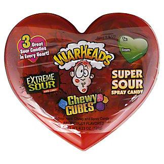 Warheads Valentine Extreme Variety Sour Heart Scrambler, 4.23 oz