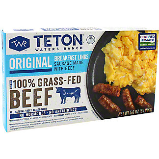 Teton Waters Sausage Original Breakfast, 5.6 oz