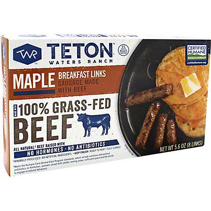 Teton Waters Maple Breakfast Sausage, 5.6 oz