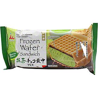 Imuraya Ice Cream Sandwich Matcha, 5.07 oz
