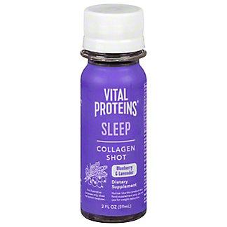 Vital Proteins Sleep Collagen Shot Blueberry & Lavender, 12 ct