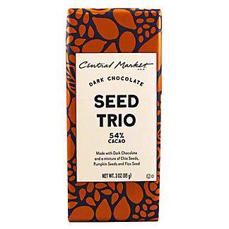 Central Market Super Seeds 54%Dark Chocolate Bar, 3 oz