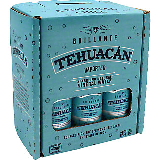 Tehuacan Sparkling MineralWater Case, 6 pk