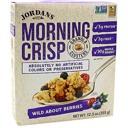 Jordans Morning Crisp Jordans Morning Crisp Wild About Berries, 12.5 oz