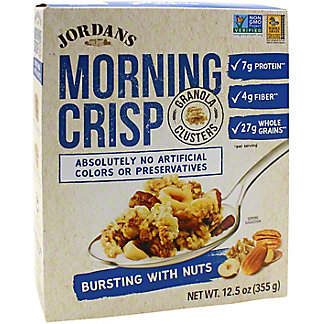 Jordans Morning Crisp Jordans Morning Crisp Bursting With Nuts, 12.5 oz