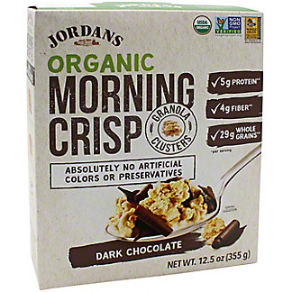 Jordans Morning Crisp Jordans Morning Crisp Organic Dark Chocolate, 12.5 oz