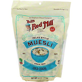 Bobs Red Mill Muesli Paleo Cereal, 14 oz
