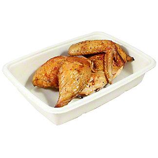 Central Market Oak Smoked Pepper Rotisserie Chicken Half, ea