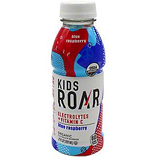 Roar Kids Blue Raspberry Organic Electrolyte Beverage, 12 oz